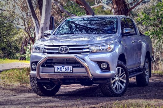 Custom Bull Bar Designs for Toyota Hilux