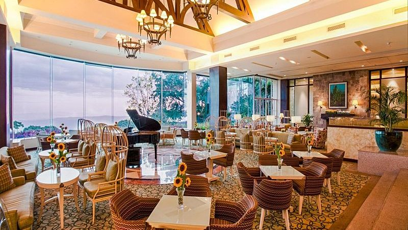 venue with grand piano